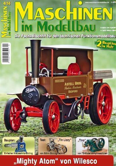 Maschinen im Modellbau Magazin Juli August No 04 2014