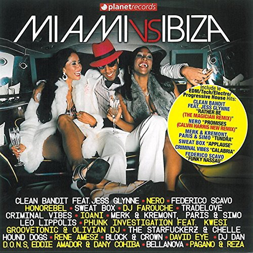 Miami Vs Ibiza (2CD) (2014)