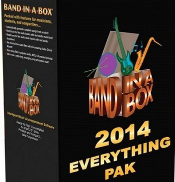 Band-in-a-Box 2014 EverythingPAK (Mac OS X)