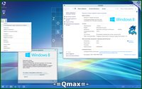 Windows 8.1 x86/x64 Professional 2in1 by -=Qmax=- (2014/RUS)