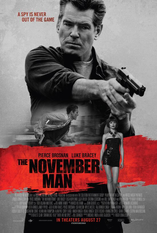 The November Man (2014) FIRST CAM XviD MP3-RARBG