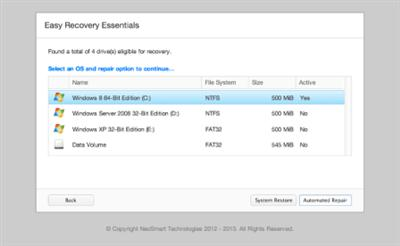 Easy Recovery Essentials Professional for Windows XP/7/8 BootCD (ReUploaded SEP 2014)