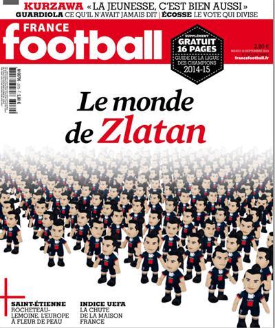 France Football No.3570 du Mardi 16 Septembre 2014