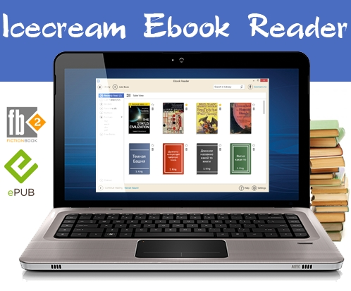 Icecream Ebook Reader 1.51 ML/Rus