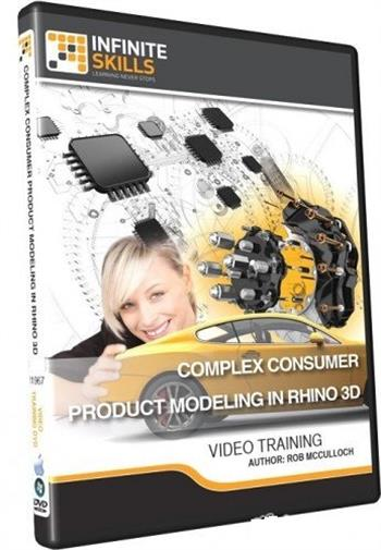 InfiniteSkills - Complex Consumer Product Modeling in Rhino 3D