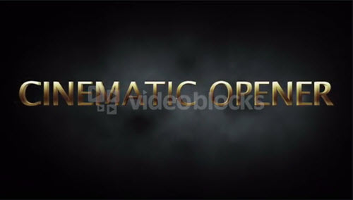 Cinematic Opener After Effects 1920x1080 Template