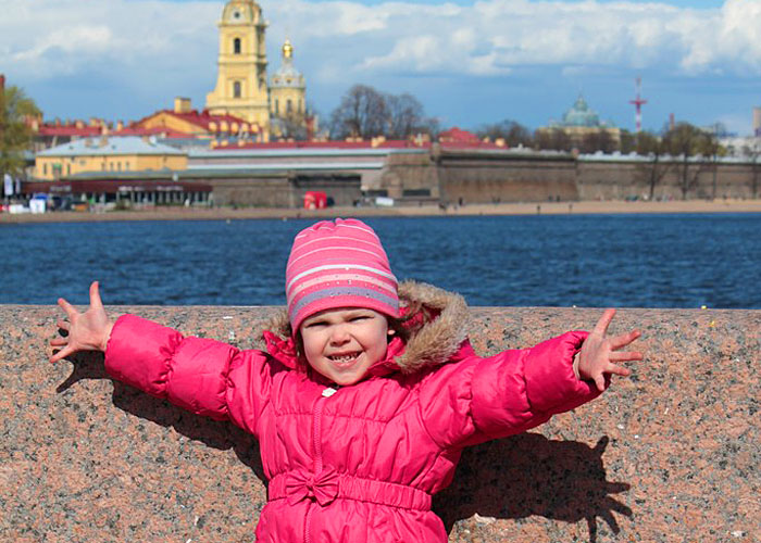 в Санкт-Петербург с детьми
