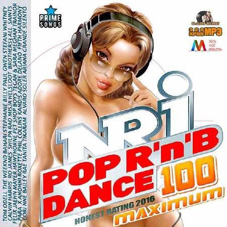 Europe - 100 NRJ Maximum Pop Dance RnB Mix (2016)