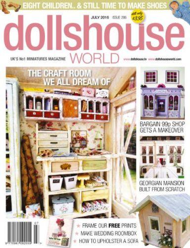 Dolls House World -- July 2016 (True PDF)