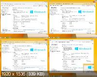 Microsoft� Windows� 8.1 Update1 4 in 1 6.3.9600.17031.WINBLUE_GDR.140221-1952. Ru w.BootMenu by OVGorskiy 05.2014 1DVD