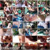 RealSlutParty - Amia Miley, Phoenix Askani - Cock-Hungry Bitches [HD 720p]