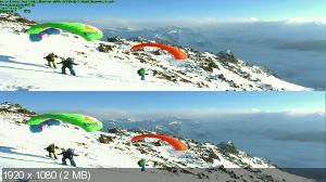За гранью: Запредельные Гонщики в 3Д / Over the Edge: Ultimate Speed Riders 3D  ( by Ash61) Вертикальная анаморфная