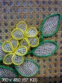Цветы из мешковины, джута, шпагата Fde8ed06bea6b431aef6699748b4ec4d