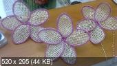 Цветы из мешковины, джута, шпагата Ecdb85fc5699283d37acc738a9e108a8