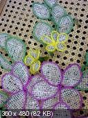 Цветы из мешковины, джута, шпагата Bd706b2925656c3a84ff77fe9def88b7