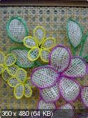 Цветы из мешковины, джута, шпагата 5d362e42cdda795f6fa6d1fe610cc2fd
