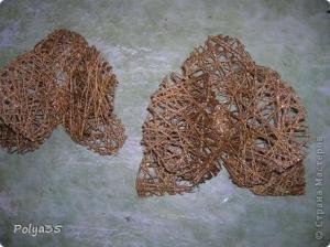 Цветы из мешковины, джута, шпагата 2cc59908084a1e0c4aa769789560f00c