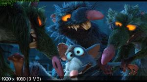 �������� ����� / The Nut Job (2013) BDRip 1080p | 3D-Video | halfOU | ��������