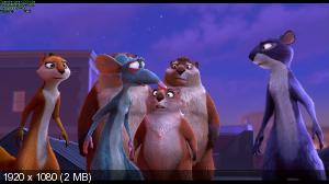Реальная белка / The Nut Job (2013) BDRip 1080p | 3D-Video | halfOU | Лицензия