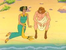 Разрушение Трои и приключения Одиссея / Destruction of Troy and adventures of Odysseus (1998) DVDRip
