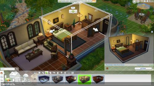 The Sims 4: Новый скриншет режима строительства