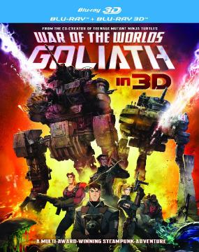 ����� �����: ������ � 3� / War of the Worlds: Goliath 3D (2012) BDRip 1080p 3D