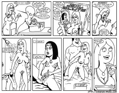 The American Wet Dream comic