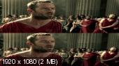 Без черных полос (На весь экран)  300 спартанцев: Расцвет империи 3Д / 300 Rise of an Empire 3D (Лицензия) Вертикальная анаморфная