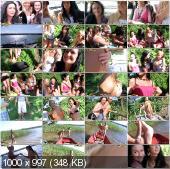 CollegeFuckParties - Vendy, Liana, Zora, Priscilla, Michelle, Ivanka - Wild College Girls Fucking Outdoors Part 1 [HD 720p]