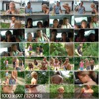 CollegeFuckParties - Alika, Tiffany, Hannah, Marta - Student Sex Friends On A Picnic Part 1 [HD 720p]