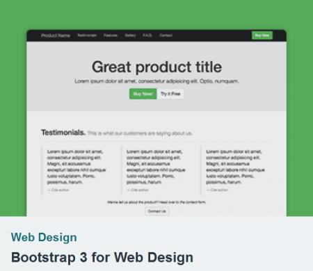 Tutsplus - Bootstrap 3 for Web Design