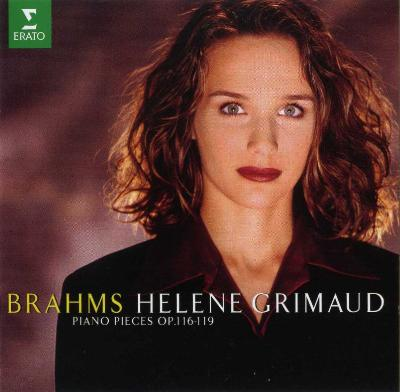 Helene Grimaud (piano) – BRAMS (piano pieces OP.116-119)/ 1996 ERATO