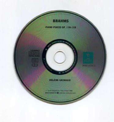 Helene Grimaud (piano) – BRAMS (piano pieces OP.116-119)/ 1996 ERATO