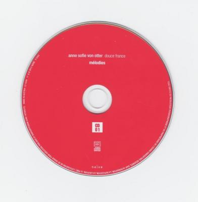 Anne Sofie von Otter (mezzo-soprano) – Douce France, 2CD / 2013 Naïve