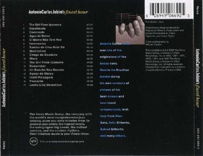 Antonio Carlos Jobim - AntonioCarlosJobim'sfinesthour / 2000 Verve
