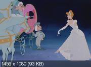 ������� / Cinderella (1950) BDRip 1080p | DUB | 60 fps