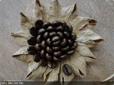 Цветы из кофейных зерен и шпагата – мастер-класс    8a85ddf211bb89dfeb3dd80e341268af
