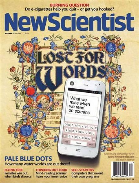 New Scientist – 01 November 2014
