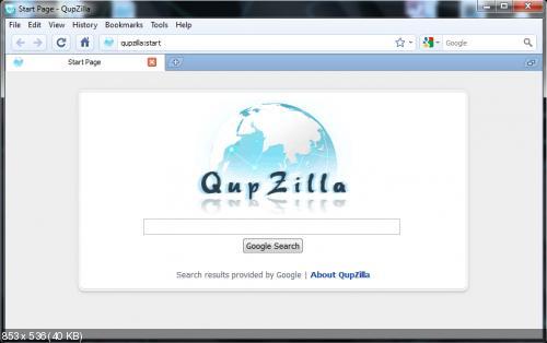 QupZilla 1.8.3 (2014) РС | + Portable