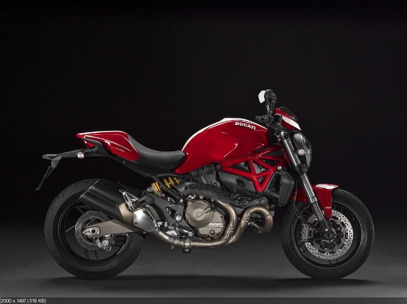 Мотоциклы Ducati Stripe-серии: Monster 821 / Monster 1200 S (2015