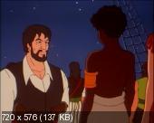 Черный пират. Человек в черном  / The Black Corsair (Часть 1) (1998) DVDRip