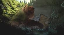 Как приручить медведя / Den kæmpestore bjørn (2011) DVDRip