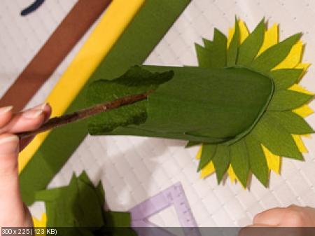 Цветы из гофрированой бумаги Ce5e4d168440489443de9136b5d1b2a1