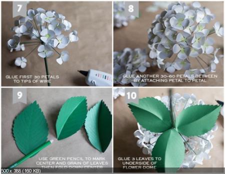 Цветы из дизайнерской бумаги 6563730a8d8b17d3b6f77c8e992bed69