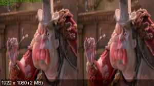 Семейка монстров в 3Д / The Boxtrolls 3D (Лицензия от Ash61) Горизонтальная анаморфная