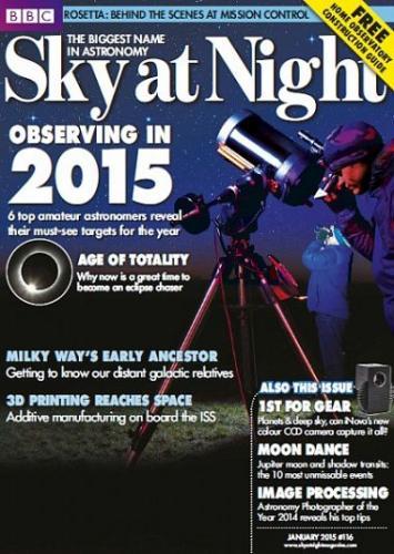 Sky At Night – January 2015