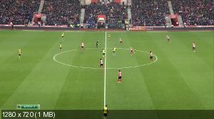 Футбол. Чемпионат Англии 2014-15. 20-й тур. Саутгемптон - Арсенал [01.01] (2015) HDTVRip 720p | 50 fps