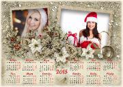 Рамки-календари на 2015 (30 PSD)
