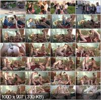 YoungSexParties - Vika, Angelica - Cream And Coffee Home Sex Party [HD 720p]