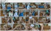 Спелая медсестричка дала пациенту у него дома
